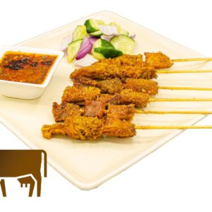 Beef Stomach Satay WhiteBG