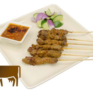 Beef Tenderlion Satay WhiteBG