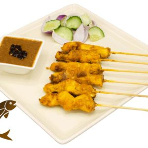 Fish Satay WhiteBG