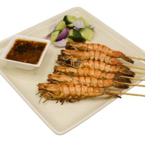 Prawn Satay(Seasonal)