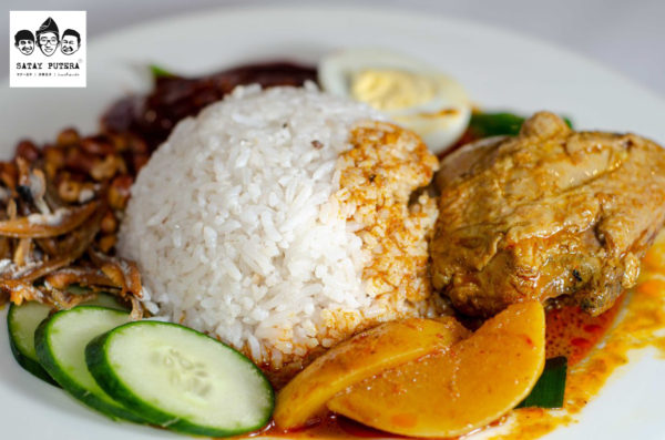 Nasi-Lemak-with-Chicken-Curry-sideview