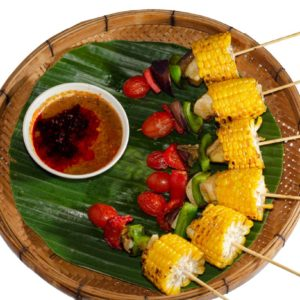 Mix Veg Satay(Seasonal)