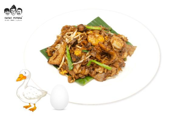 Penang Char Kueh Teow with Duck Egg